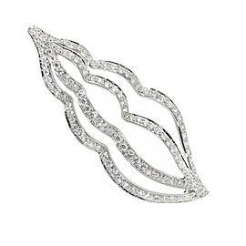 Tiffany & Co. Platinum with 2ct. Diamond Sea Whelk Shell Pin Brooch