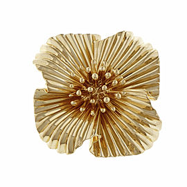 Tiffany & Co. 14K Yellow Gold Fireworks Pin Brooch