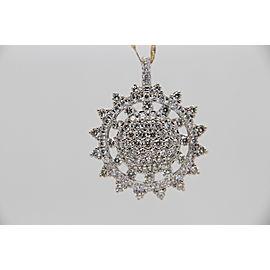 1.67 Carat Diamond Pendant In 18 Karat Gold