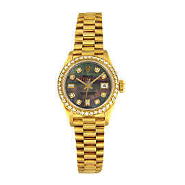 Rolex Oyster Perpetual Datejust 69178 26mm Womens Watch