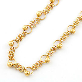 18k Yellow gold Necklace CHAT-536