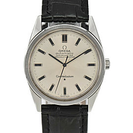 OMEGA Constellation Chronometer Cal.712 Silver Dial Automatic Mens Watch