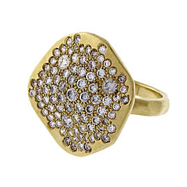 18K Yellow Gold with 2.04ct Diamond Ring Size 8.5