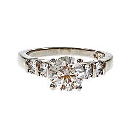 Hearts & Arrows Gemlok Platinum & 1.40ct Diamond Engagement Ring Size 6