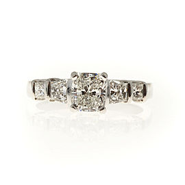 Platinum Diamond Ring Size 7