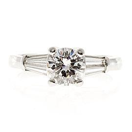 Platinum Diamond Ring Size 6.75