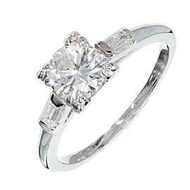 Platinum with 0.74ct Diamond Engagement Ring Size 6