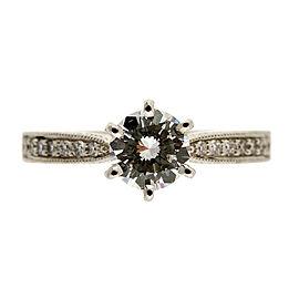 Platinum with 0.46ct Diamond Engagement Ring Size 6
