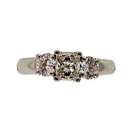 Platinum 950 Diamond Engagement Ring Size 6