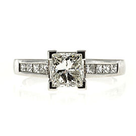 Platinum 1.02ct Diamond Ring Size 6.25