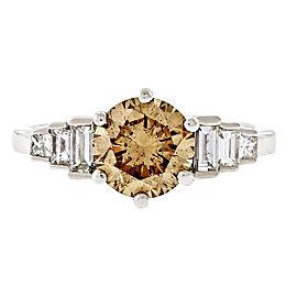 Platinum 1.64ct Diamond Ring Size 8