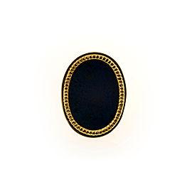 18K Yellow Gold with Lapis Lazuli Ring Size 8
