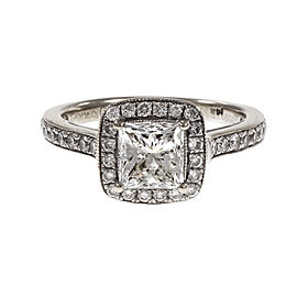 14K White Gold 0.43ct Diamond Ring Size 5.25