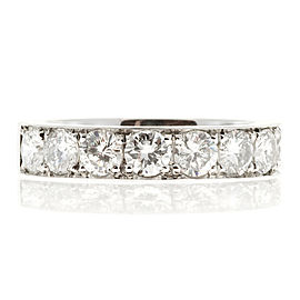 Peter Suchy Platinum with 1.65ct Diamonds Wedding Band Ring Size 6.25