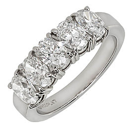 950 Platinum 2.00ct Diamond Band Ring Size 6