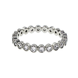 Platinum Diamond Eternity Band Ring Size 6