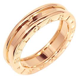 Bulgari 18K Rose Gold B-Zero 1 Band Ring Size 6