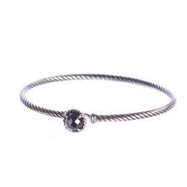 David Yurman Chatelaine 925 Sterling Silver With Hematine Bracelet
