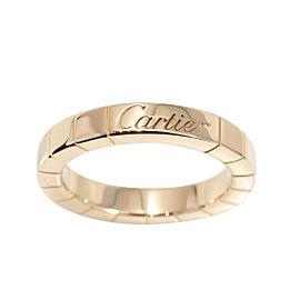 Cartier Lanieres 18K Rose Gold Band Ring Size 3.25