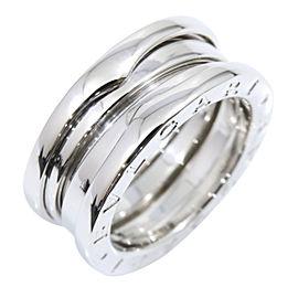 Bulgari Bzero.1 18K White Gold Ring Size 4.5