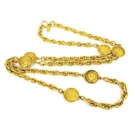 Chanel 31 Rue Cambon Gold Tone Hardware Chain Necklace