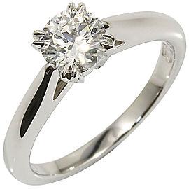 Harry Winston Platinum Diamond Ring Size 3.75