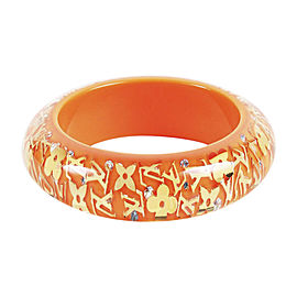 Louis Vuitton Orange Inclusion Bracelet
