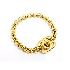 Chanel Gold Tone Bracelet