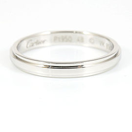 Cartier Platinum Ring Size 4.5