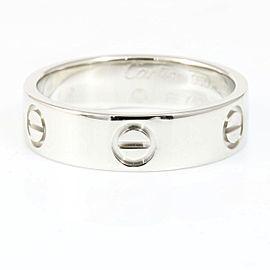 Cartier Platinum Ring Size 8.5