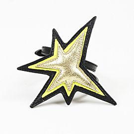 Miu Miu Leather Star Bracelet