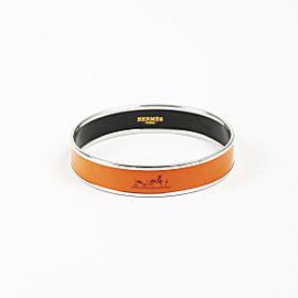 Hermes Palladium Plated Hardware with Enamel Bracelet