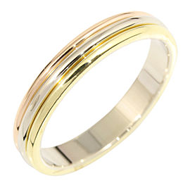 Cartier 18K WG /RG/YG Wedding Ring Size 8.75