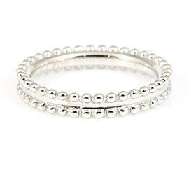 Van Cleef & Arpels Platinum Ring Size 3.75