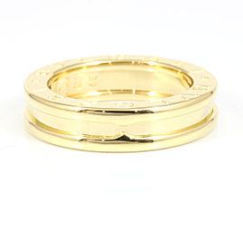 Bulgari 18K Yellow Gold Ring Size 5