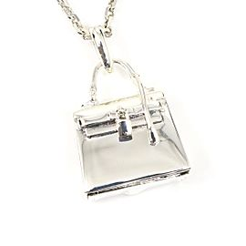 Hermes Sterling Silver Necklace