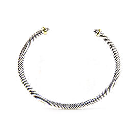 David Yurman Cable Classics 18K Yellow Gold Sterling Silver Bracelet