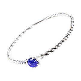 David Yurman Chatelaine Sterling Silver Lapis Lazuli Bracelet
