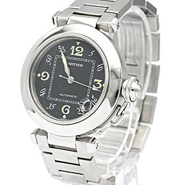 CARTIER Pasha C Steel Automatic Unisex Watch W31043M7