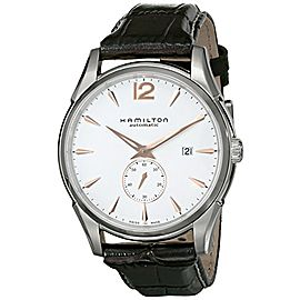 Hamilton Jazzmaster H38655515 Stainless Steel & Leather Automatic 43mm Mens Watch