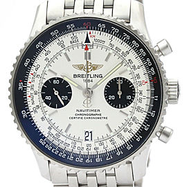 BREITLING Stainless Steel Navitimer 05 Limited Edition Watch HK-2365