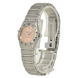 OMEGA Constellation Cindy Crawford 1564.66 16P diamond Ladies Watch