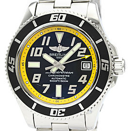 Polished BREITLING SuperOcean 42 Steel Automatic Mens Watch A17364