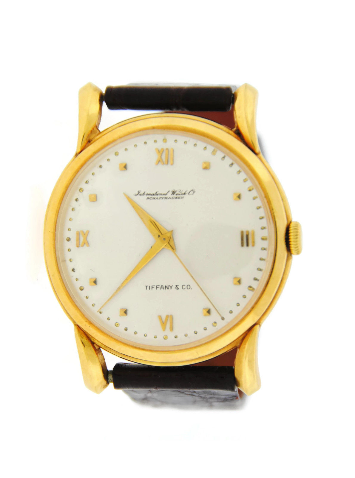 cartier panthere watches round women watch gold s yellow pin vintage