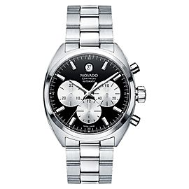 Movado 0606364 800 Series Datron Chronograph Automatic Stainless Steel Mens Watch