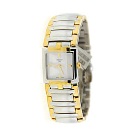 Tissot T051.310.22.031.00 T-Evocation Two Tone Stainless Steel Watch