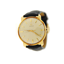 Omega Vintage 18K Yellow Gold Watch