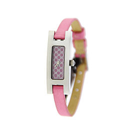 Gucci YA039539 3900L G Link Pink Dial Stainless Steel Watch