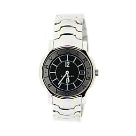 Bulgari Solotempo ST35 Stainless Steel 35mm Watch