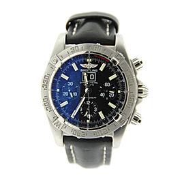 Breitling Windrider Blackbird A4435910/B811 Chronograph Stainless Steel Mens Watch